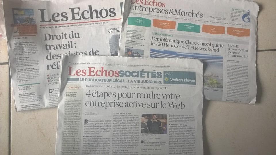 Les Echos Sociétés