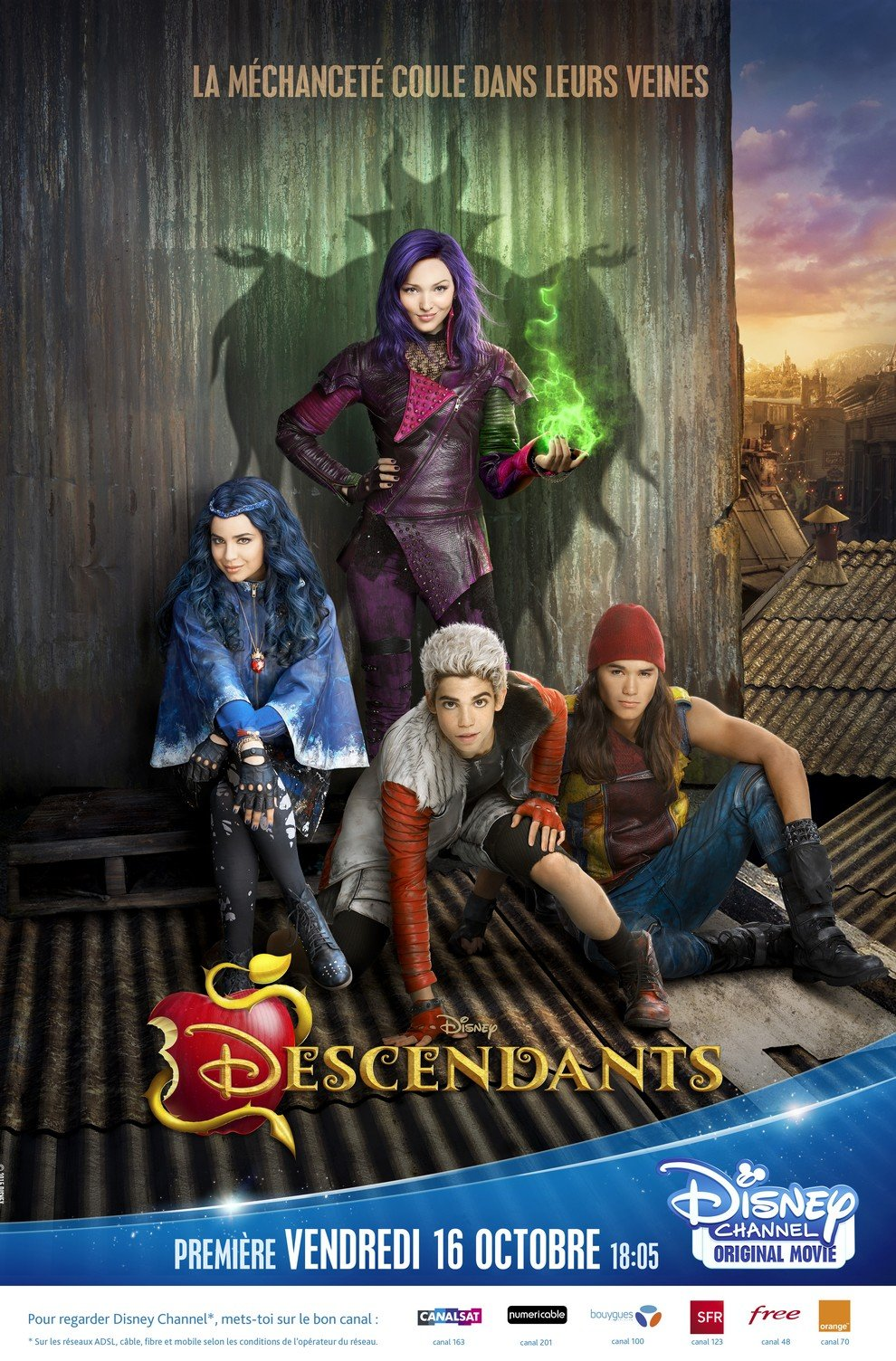 Affiche Descendants