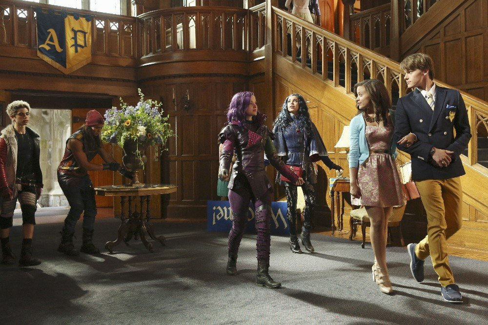 Descendants arrivee des enfants de villains
