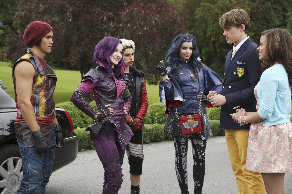 Descendants arrivee des villains