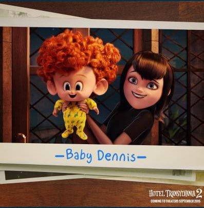 Hotel Transylvanie Baby Dennis