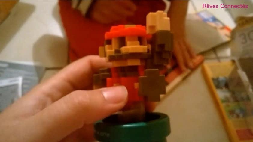 Super Mario Maker Amiibo Pixels