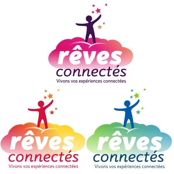 Logos Rêves Connectés.