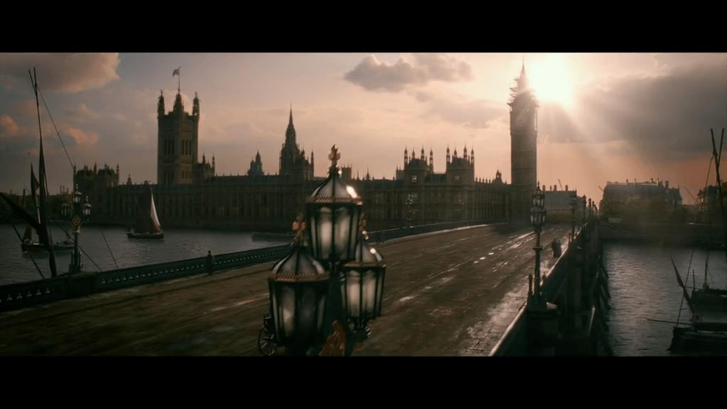"""Londres dans """"Docteur Frankenstein"""""""