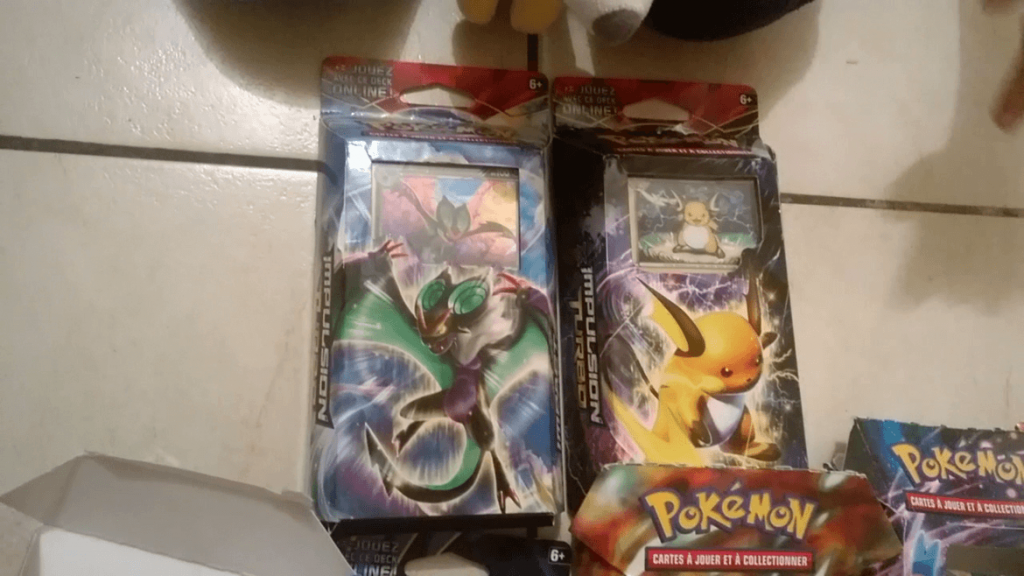 Pokemon XY Jeux Cartes Collectionner - Decks Impulsion Turbo