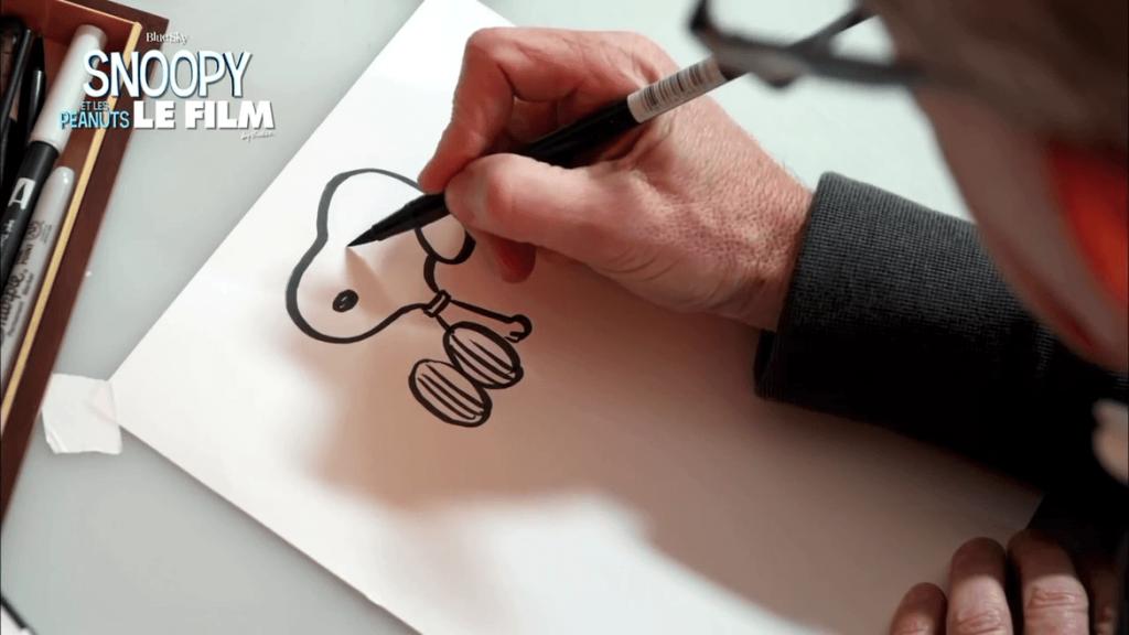 Comment dessiner Snoopy avec Steve Martino
