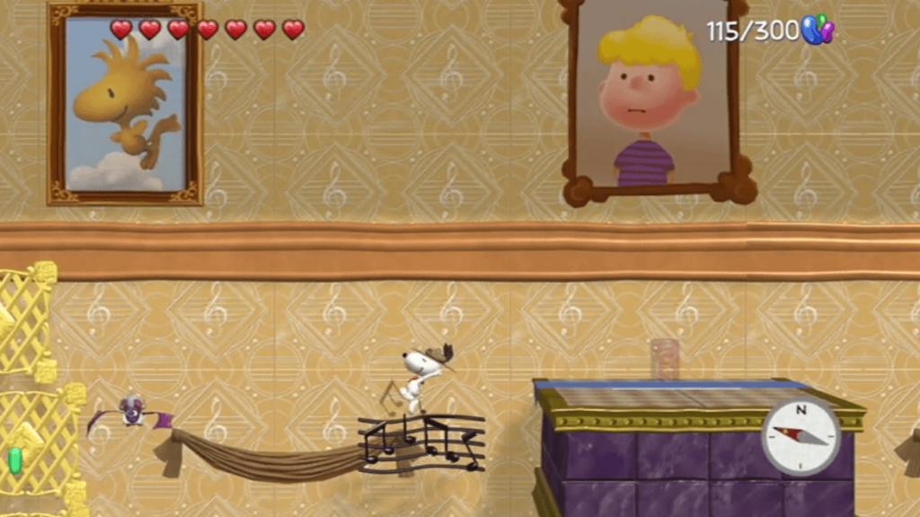 Snoopy et Les Peanuts, le jeu vidéo sur Wii U