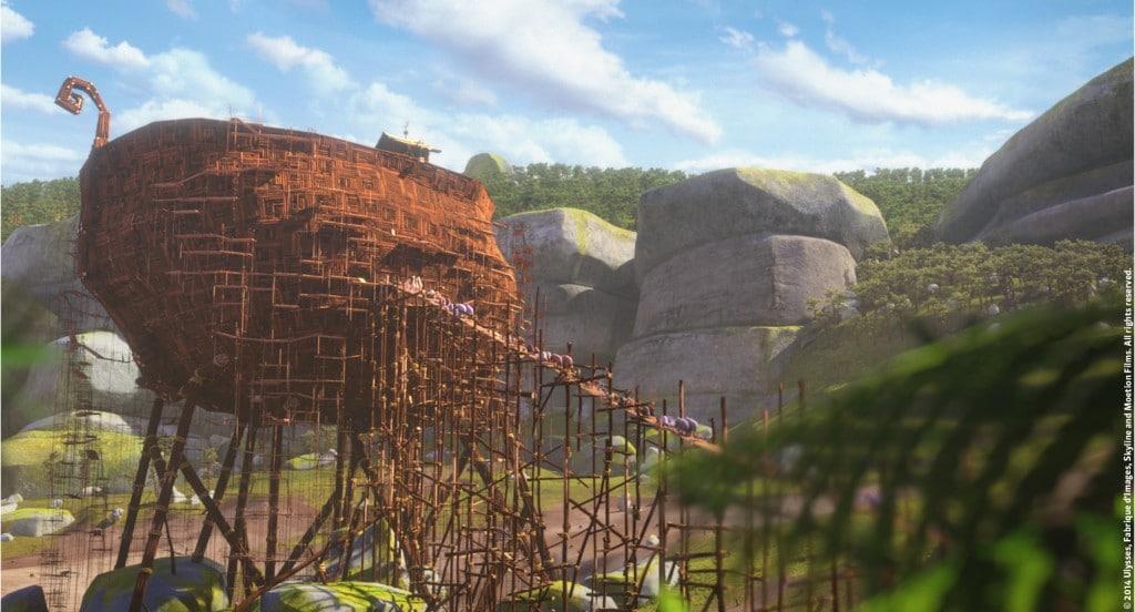 OUPS_l'embarquement sur l'arche_Ulysses,Fabriqued'Images,Skyline,MoetionFilms
