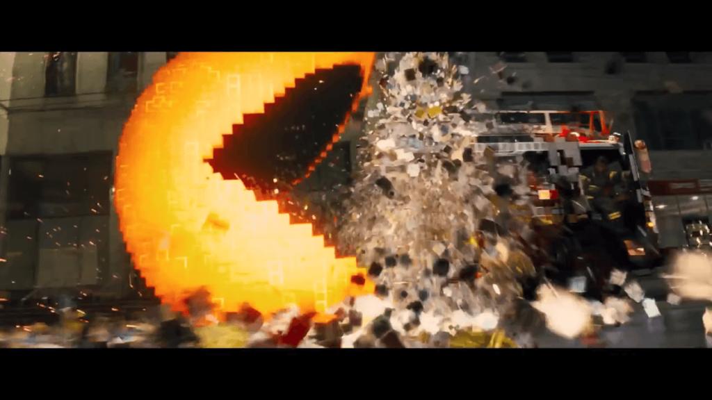 Pixels Movie - Pacman