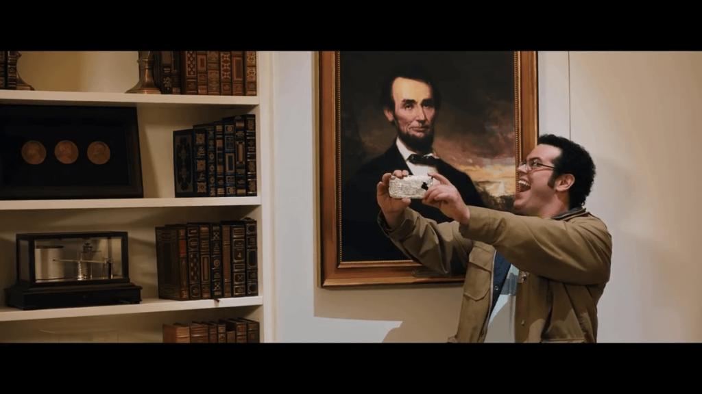 Pixels Movie - A la Maison Blanche