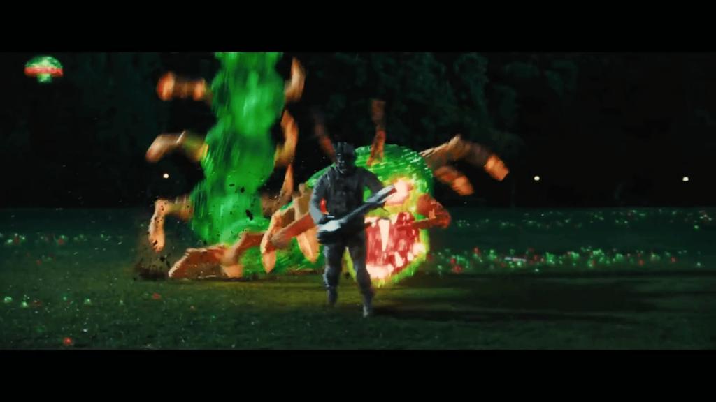 Pixels Movie - Centipede