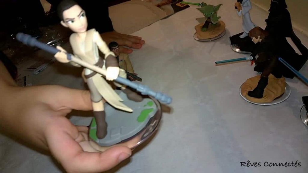 Star Wars Le Reveil de la Force - Les figurines Disney Infinity