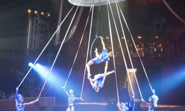 Pégase & Icare. Découverte en famille du nouveau spectacle équestre et aérien du cirque Alexis Gruss.