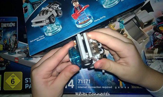 (Podcast) Épisode 42 : Test en famille des aventures Doctor Who et Retour vers le Futur de Lego Dimensions.