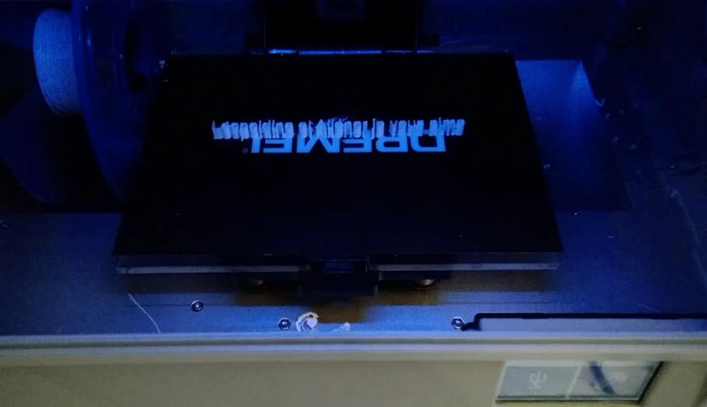Dremel 3D Ideal Builder, Texte