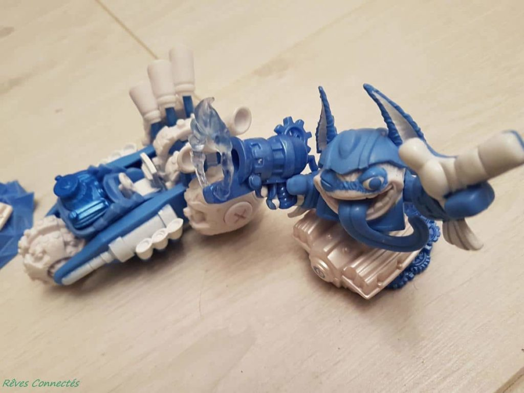 Skylanders Super Chargers - Power blue - Trigger Happy