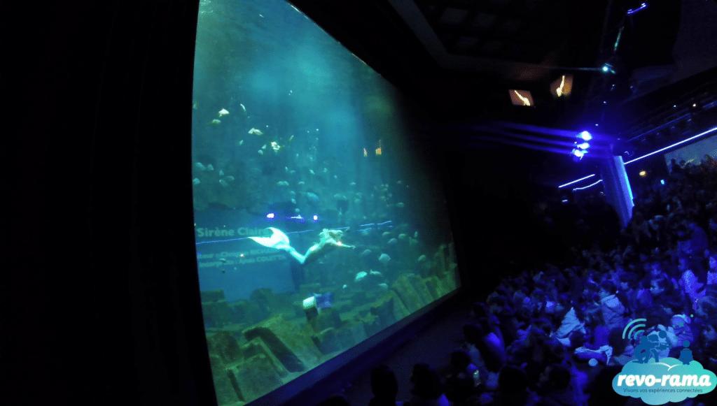 Aquarium de Paris - Claire la Sirène