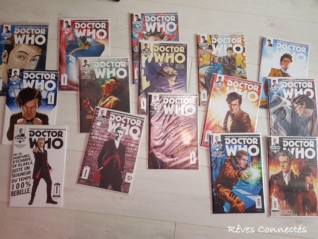 Comics Dr Who Titan Akileos - Année 1