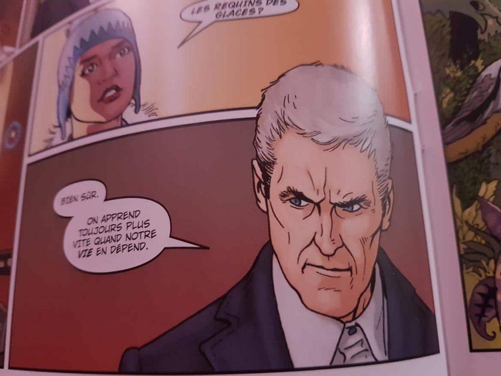 Comics Dr Who Titan Akileos - Annee 1 - 12eme docteur