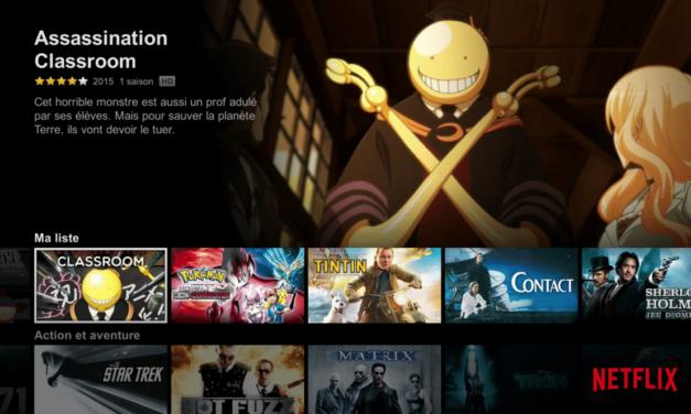 Notre sélection de séries d'animation japonaise sur Netflix : Pokémon XY, Sword Art Online I et II, Assassination Classroom, Hunter x Hunter, Fairytail