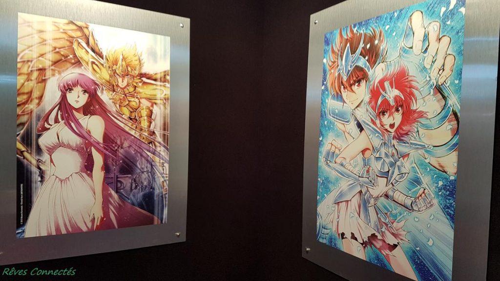 Japan Expo - Chimaki Kuori illustrations Saint Seiya