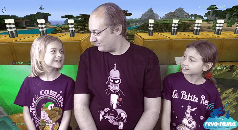 """Revo-Rama spécial """"Bac à sable"""" : Minecraft, Disney Infinity Toybox et Lego Worlds (vidéo)"""