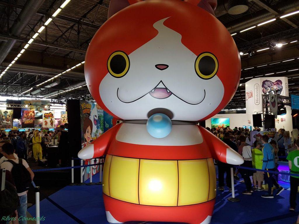 Japan Expo - Yokai Watch jibanyan