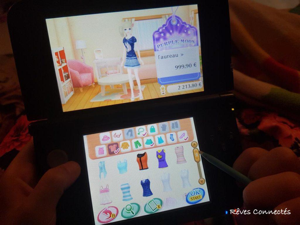 La Nouvelle Maison du Style 2 sur la Nintendo 3DS XL d'Aliénor