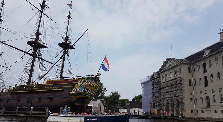 À la découverte en famille d'Amsterdam (photos)