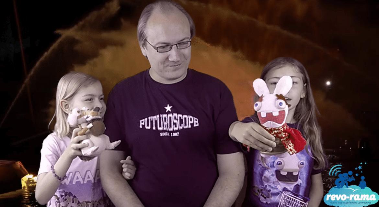Le Revo-Rama au Futuroscope. Découvrons La Forge aux Étoiles ! (vidéo)