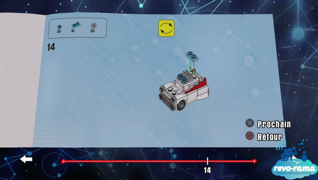 Montage Ecto 1 Ghostbusters Lego Dimensions