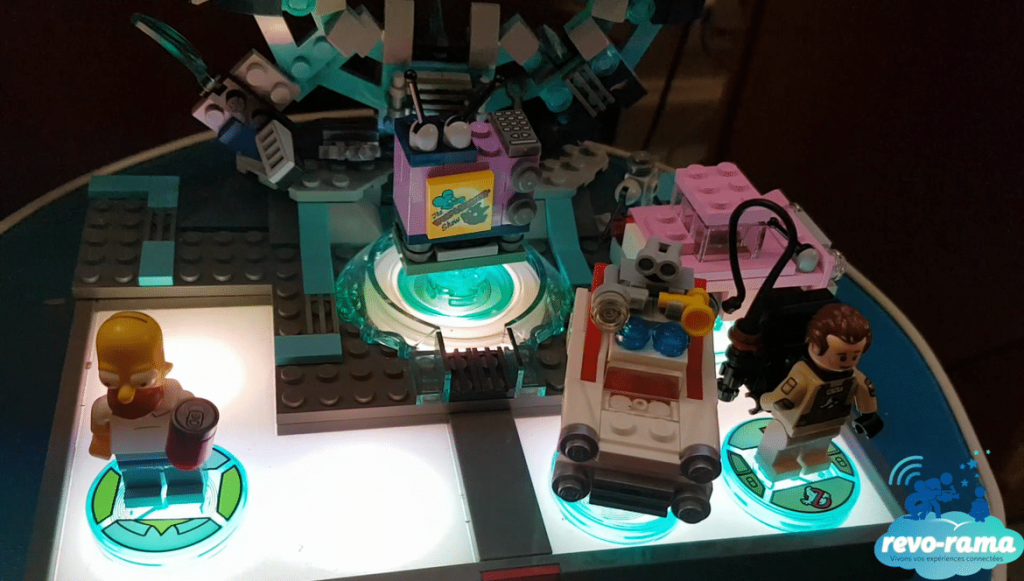 Portail Lego Dimensions Les Simpson Ghostbusters