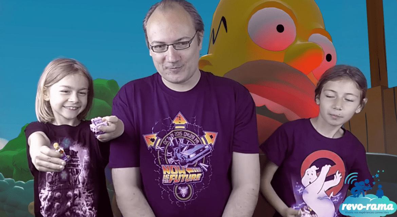 Le Revo-Rama teste Lego Dimensions Ghostbusters et Les Simpson (vidéo)