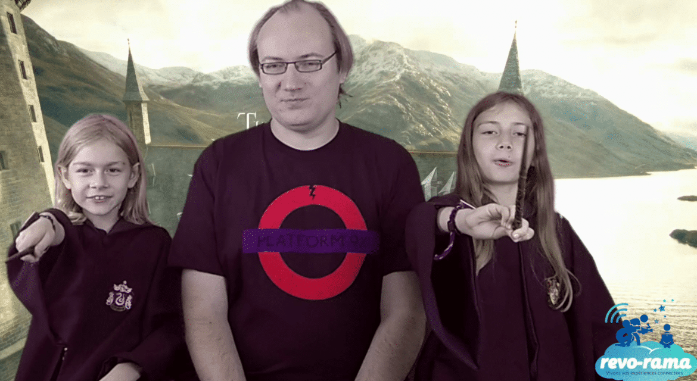 Le Revo-Rama au Harry Potter Studio Tour ! (Revo-Rama in London part 4) (vidéo)