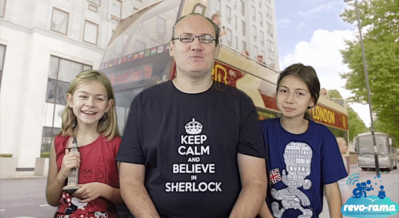 Le Revo-Rama à Madame Tussauds, London Eye, Shrek's Adventure et Sea Life (London part 6) (vidéo)