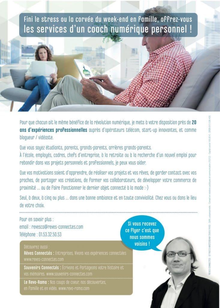 Coach numérique Rêves Connectés - Verso