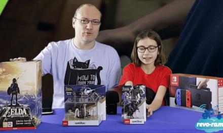 Le Revo-Rama teste la Nintendo Switch et l'édition collector du jeu Zelda Breath of the Wild (vidéo)