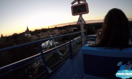 Le Revo-Rama à l'inauguration de la nouvelle attraction du Parc Astérix : Pégase Express ! (vidéo)