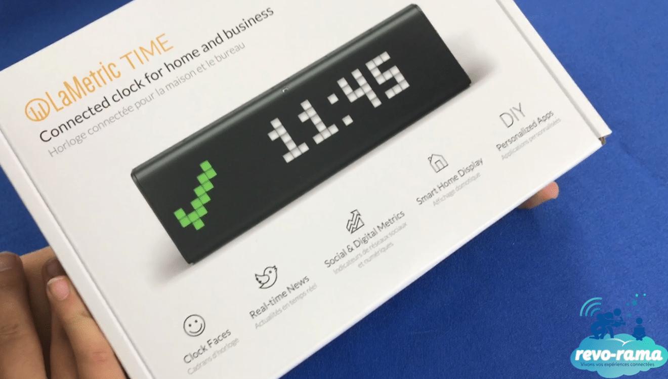The Revo-Rama tests LaMetric Time – the Wi-Fi clock and its
