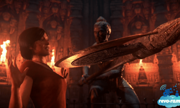 Revo-Rama Express Uncharted The Lost Legacy sur Playstation 4 (vidéo)