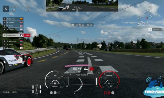 Revo-Rama Express Gran Turismo Sport sur Playstation 4 (vidéo)