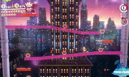 Revo-Rama Express Super Mario Odyssey sur Nintendo Switch (vidéo)