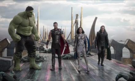 Thor Ragnarok ou le plaisir de voir Les Revengers : Thor, Loki, Hulk, et la Valkyrie réunis.
