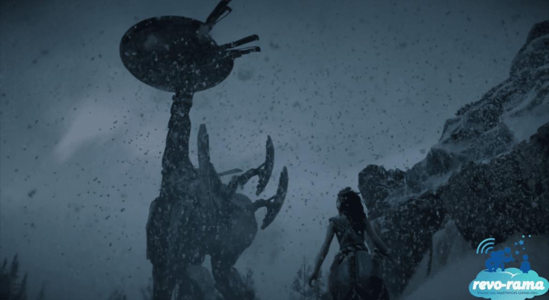 Revo-Rama Express Horizon Zero Dawn : The Frozen Wilds sur Playstation 4 (vidéo)