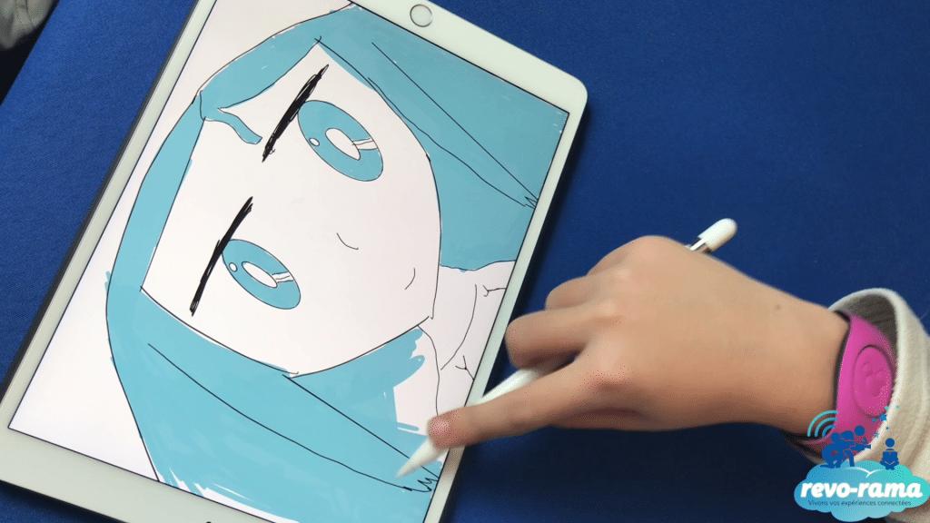revorama-ipad-pro-apple-pencil-leopoldine-les-dessins-connectes-2017