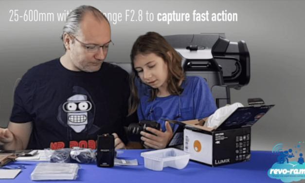 Le Revo-Rama teste l'appareil photo Bridge 4K Wifi : Panasonic Lumix FZ300 (vidéo)