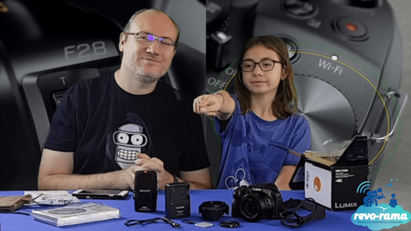 The Revo-Rama tests the Bridge 4K Wifi camera: Panasonic