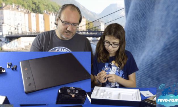 Le Revo-Rama teste la tablette Slate 2+ de ISKN et son application de création graphique Imagink ! (vidéo)