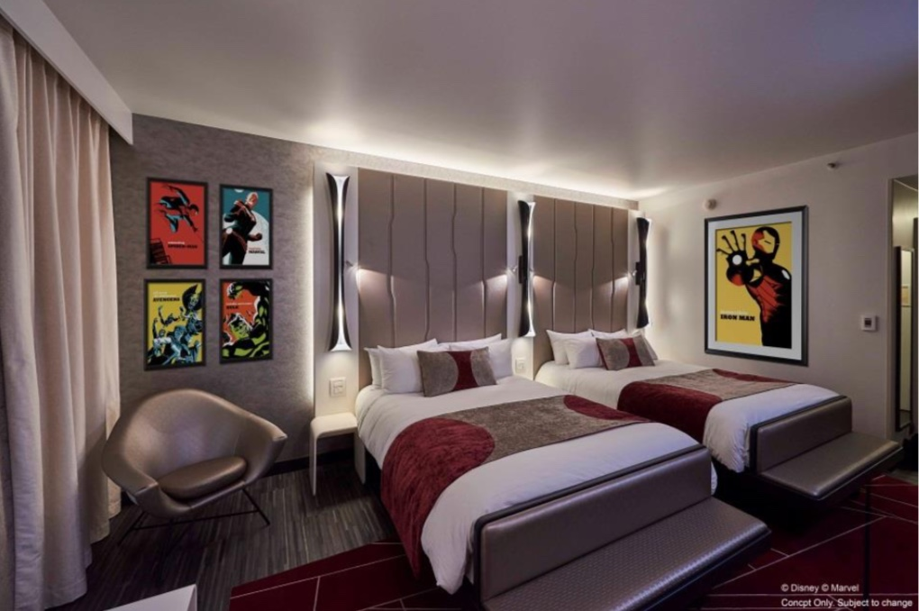 Disney's Hotel-New-York–The-Art-of-Marvel