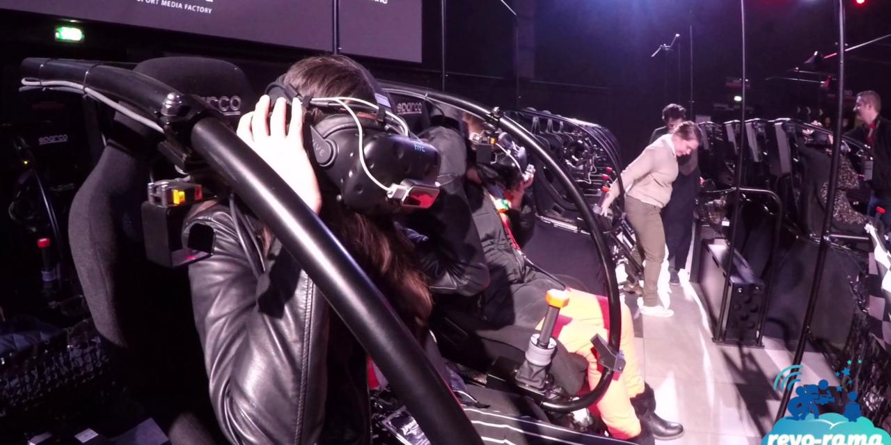 Le Revo-Rama teste Sébastien Loeb Racing Xperience, attraction VR5D du Futuroscope (vidéo)
